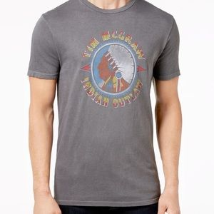 NWT Tim McGraw lucky brand Indian outlaw shirt XL